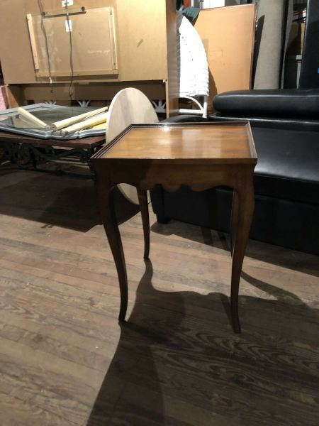 Milling Road Side End Table Wood Home Decor $250.00